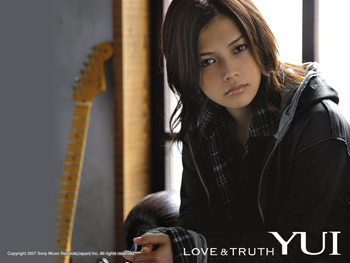 Official YUI wallpaper LOVE & TRUTH (limited)