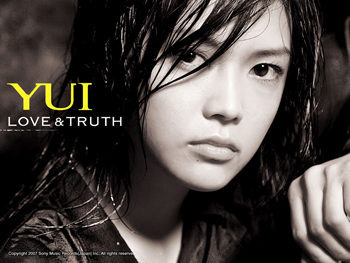 Official YUI wallpaper LOVE & TRUTH